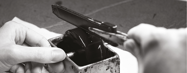 colla su cinturino in pelle arkimedia